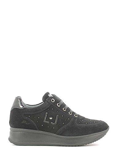 Liu Jo Girl B22586B Nero Sneakers Scarpe Donna Calzature Comode Woman Shoes Nero