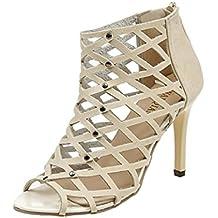 Mc Footwear - Gladiatore da ragazza' donna , nero (Black), 37 1/3