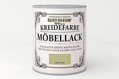 RUST-OLEUM 14007.DE.0.75 Kreidefarbe DOSE 750ml salbei grün