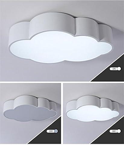 LILSN- Enfants Lampe de plafond Moderne Simple Nuage LED Living