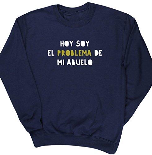 HippoWarehouse Hoy Soy el Problema de mi Abuelo jersey sudadera suéter derportiva unisex