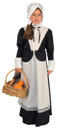 Pilgrim Kinder Kostüm - Costume Child Pilgrim Girl Small (Kostüme)