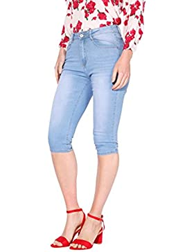 KRISP Pantalones Vaqueros Cortos Mujer Verano 2018