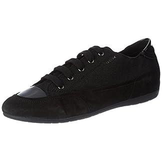 Geox Damen D New Moena D Sneaker, Schwarz 4