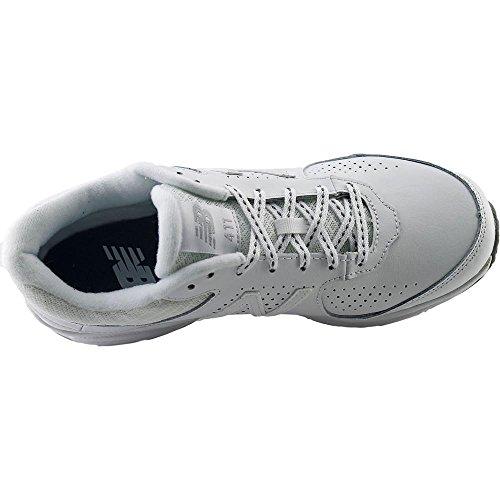 New Balance WW411 Femmes Large Cuir Chaussure de Marche Wt2