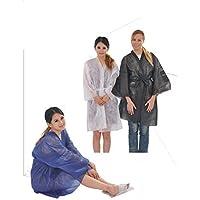 Bata kimono en TS de polipropileno, 30 grs, con cintas, con bolsillo hombro
