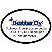Butterfly Stainless Steel Pressure Cooker Gasket 7.5 Lt