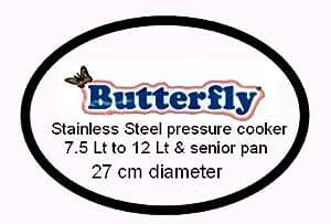 Butterfly Stainless Steel Pressure Cooker Gasket 7.5 Lt