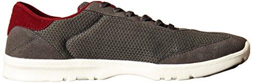 Etnies Lo-Cut Sc Herren Sneaker Grau BLACK RED GREY