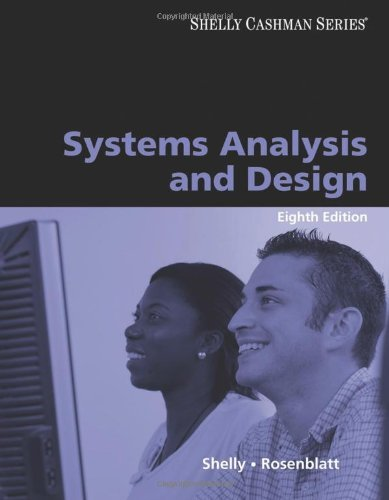 Systems Analysis and Design (Shelly Cashman Series) by Gary B. Shelly (2009-03-11)