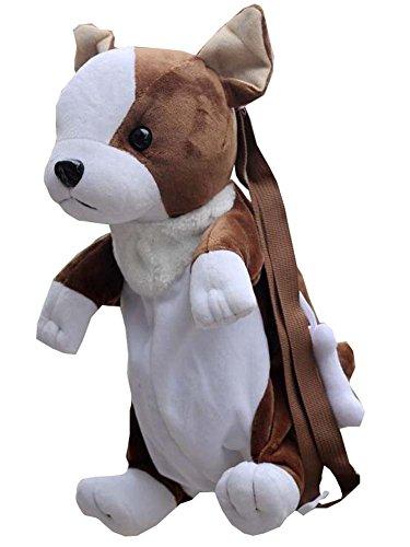 Brown-Border-Collie Tier Kinder Rucksack Kinder Schultertasche -