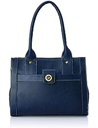 Fostelo Women's Handbag (Blue) (FSB-362)