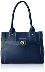 Fostelo Women's Handbag (Blue) (FSB-362)