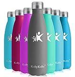 KollyKolla Gourde Isotherme Enfant Acier Inoxydable Sport Bouteille d'eau Reutilisable Gourdes sans BPA...