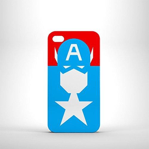 Super Héros Captain America Coque iPhone 4S