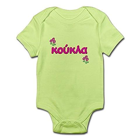 CafePress - Greek Little Doll - Koukla Infant Creeper -