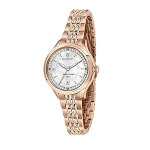 Reloj para Mujer, Colección TRAGUARDO, de Acero, PVD Oro Rosa, Cristales