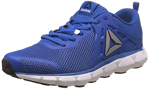Reebok Men's Hexaffect Run 5.0 Mtm Blue, White and Black Running Shoes - 11 UK/India (45.5 EU) (12 US)