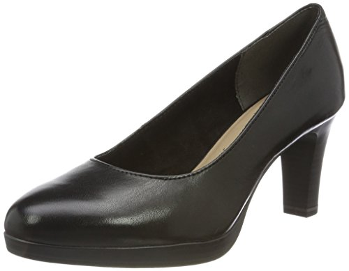 Tamaris Damen 22410 Pumps, Schwarz, 39 EU