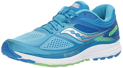 Saucony Women's Guide 10 Light Blue/Ankle-High Running Shoe - 7M