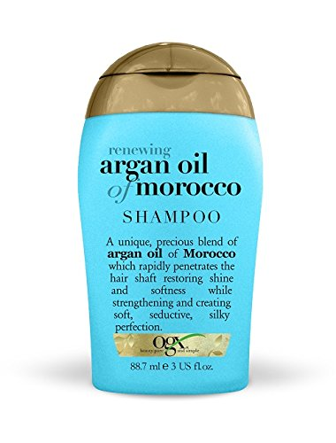 OGX Travel Renewing and Argan Oil of Morocco Shampoo, 88.7 ml