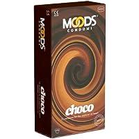 MOODS Choco Condoms - 12 Kondome mit Schokoladen-Aroma preisvergleich bei billige-tabletten.eu