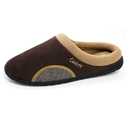 Coolers , Chaussons pour homme Brown / Tweed