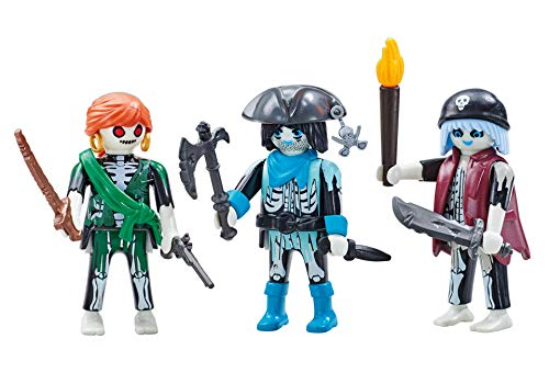Playmobil 6592 3 Ghost Pirates (Foil Packaging)