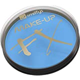 Smiffys Make-Up FX Aqua Face and Body Paint Pale Water Based, 16 ml - Blue