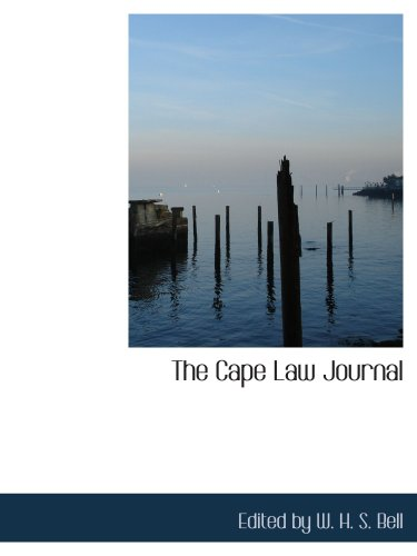 The Cape Law Journal
