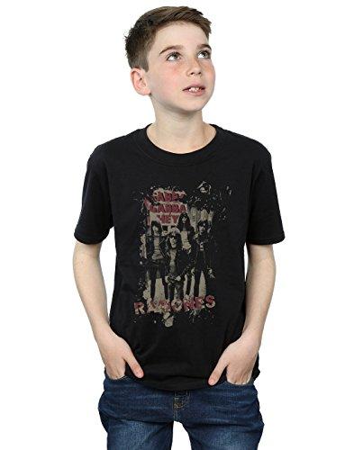 Ramones niños Gabba Gabba Hey Camiseta 12-13 years Negro