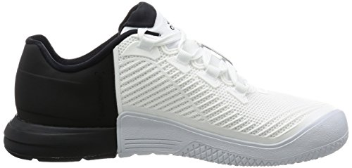 M adidas Bianco Ftwbla Uomo Ftwbla Crazypower Tr Ginnastica da Scarpe Negbas 8qrUH80nWp