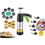Olypex Combo Of 16 In 1 Sev Sancha, Namkeen Maker, Kitchen Press