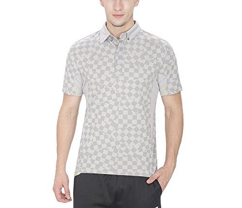 YONEX 10130-26B16-SR Badminton Polo T-Shirt - Grey