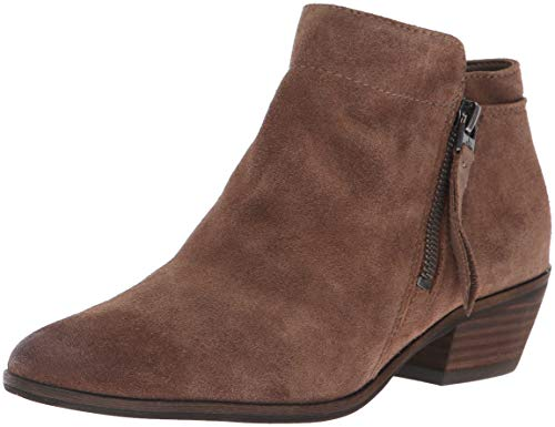 Sam Edelman Damen Packer Stiefelette, Dark Taupe Suede, 35.5 M EU Packer Boot