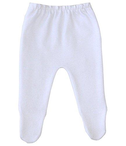 BabyPrem Babykleidung Frühchen Strumpfhosen Baby 32 - 50cm WEIß PREM 2 (Strumpfhosen Einfach)