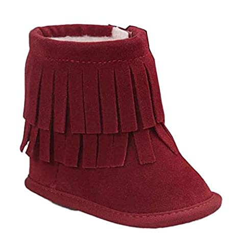 Chaussures bébé, Reaso Maintien au chaud double-pont Glands semelle souple