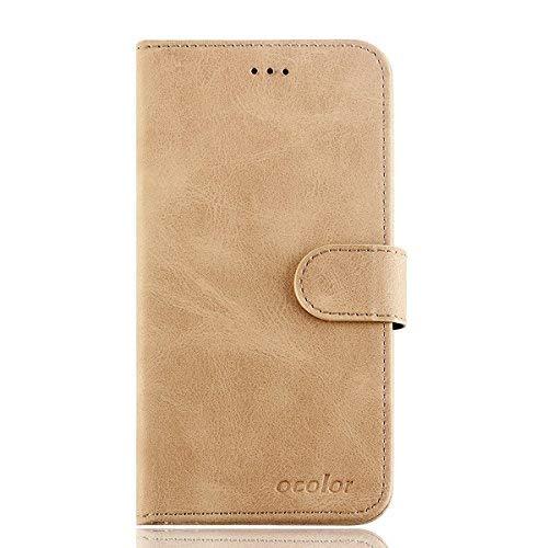 95Street Handyhülle für UMIDIGI A3/A3 Pro Schutzhülle Book Case für UMIDIGI A3/A3 Pro, Hülle Klapphülle Tasche im Retro Design mit Praktischer Aufstellfunktion - Etui Gelb
