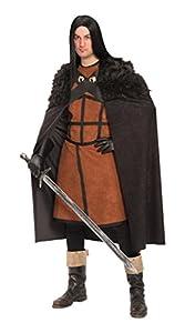 Carnival Toys - Disfraz guerrero en bolsa, talla única, color marrón (80838)