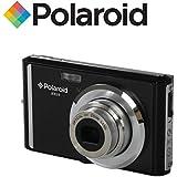 """Appareil photo numerique ultra compact Polaroid iE826 de 18 megapixels (18 Mpx, zoom optique 8x, batterie Li-Ion, ecran 2,4"""") (noir)"""