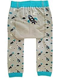 e0a94e36531 huggalugs Baby Toddler Boys Girls Unisex Blast Off Rocket Legging Pant 6-12m