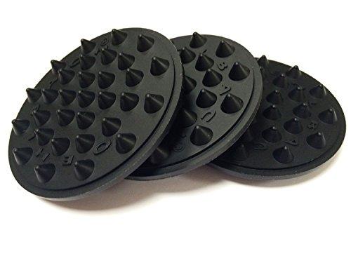 OEHLBACH Shock Absorber (4 Stück), elastisch schwarz (55038)