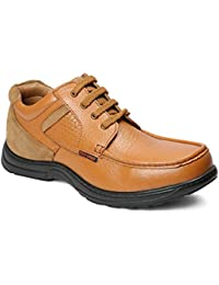 Red Chief Leather Outdoor Casual Shoes for Men
