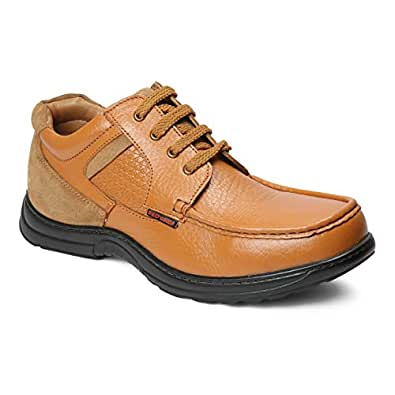 Red Chief Wronge Tan Leather Casual Shoe for Men (RESS03 0100) 6 UK/India