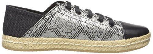 Geox D Modesty D, Baskets Basses Femme Blanc (C1351)