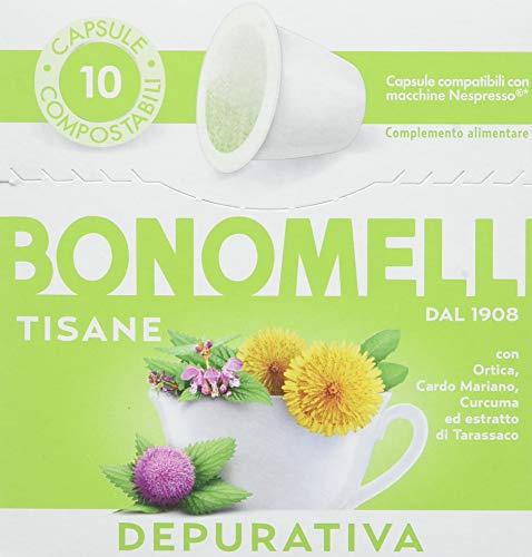 Bonomelli Capsula Tisana Depurativa - 5 Confezioni da 20 g