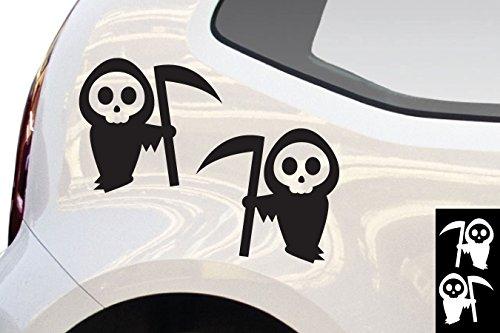 senmänner / Weiß - matt - Aufkleber zur Dekoration von Autos, Motorrädern und allen anderen glatten Oberflächen im Außenbereich; aus 19 Farben wählbar; in matt oder glänzend ()