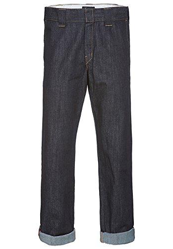 Dickies Herren Jeans, Gerade Denim Work Pant Blau (Rinsed)