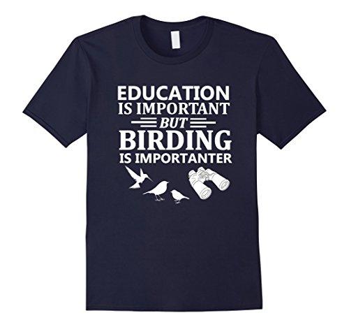 Birding Club Tees - Top - Unisex - Adulto blu navy M