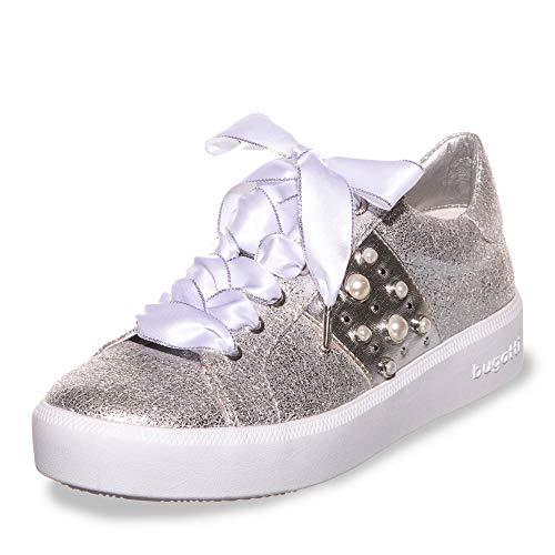 Bugatti Damen 432407075900 Sneaker, Silber (Silver 1300), 37 EU